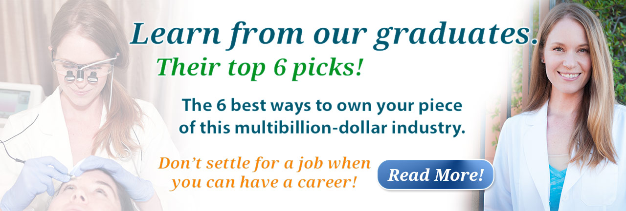 The 6 best ways to own your piece of this multi-billion dollar industry right from our graduates!